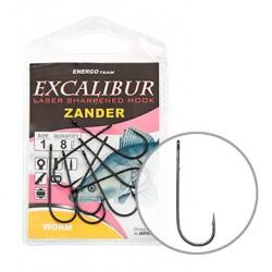 Carlige Excalibur Zander Worm