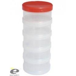 Cutie Plastic Cu Filet 5buc