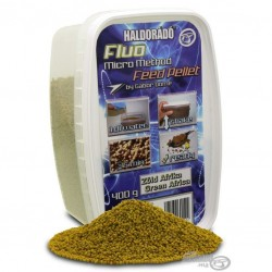 Haldorado Fluo Micro Method Feed Pellet - Green Afrika