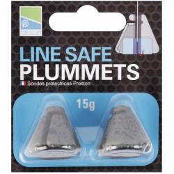 Preston Line Safe Plummets 15 gr