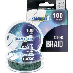 Fir Kamasaki Super Braid 100 mt