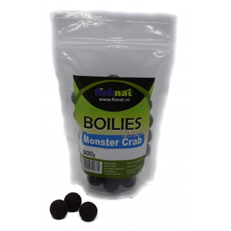 Fishnat Boilies Monster Crab 20 mm 300 gr