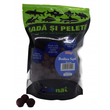 Fishnat Boilies Squid 20 mm 800 gr