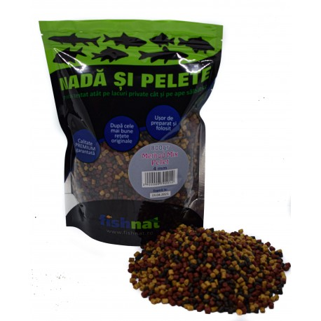 Fishnat Method Mix Pellet 4 mm 800gr