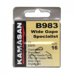 Carlige Kamasan B983 Wide Gape Specialist 10 buc