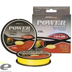 Fir EnergoTeam Power Braid Teflon Galben Fluo 150m