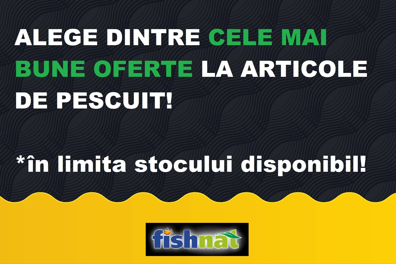 Promoții magazin articole de pescuit